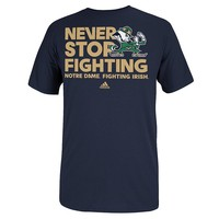 adidas Notre Dame Fighting Irish Motto Tee