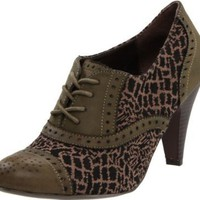 C LABEL Women's Zuden Animal Pump