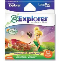 LeapFrog Explorer Learning Game: Disney Fairies: Tinker Bell and the Lost Treasure (works with LeapPad &amp; Leapster Explorer)