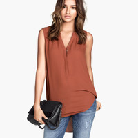 H&M Sleeveless Blouse $5