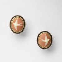 FOSSIL® Jewelry Earrings:Women Cameo Studs JA5321
