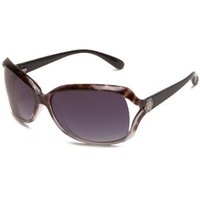 Marc by Marc Jacobs Women`s MMJ 247/S 0WAI Rectangle Sunglasses,Havana Grey Black Frame/Grey Shade Lens,One Size