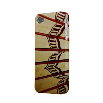 iphone4-4s case vintage umbrella design from Zazzle.com