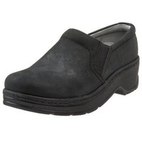 Klogs USA Women`s Naples Clog,Black Oiled,6 W US