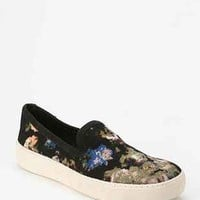 Sam Edelman Floral Slip-On Sneaker- Black Multi