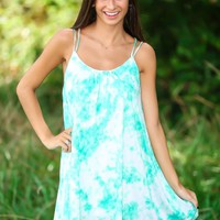 Dying To See You Dress-Mint