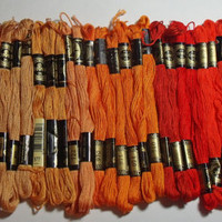 DMC Embroidery Floss 36 skeins shades of by purrfectstitchers