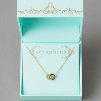 SERAPHINA INTERLOCKING PENDANT NECKLACE