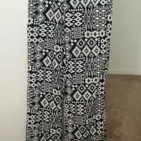 Tribal flowy lounge pants