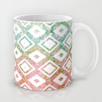 Diamond Rain Merge Mug by Lisa Argyropoulos | Society6