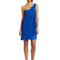 maxandcleo Women's Oragami Sky Dress