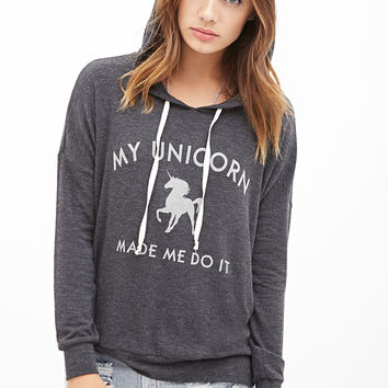 Unicorn Excuse Graphic Hoodie