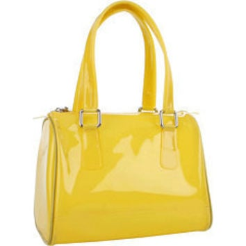 Melie Bianco Jelly Satchel Bag Yellow - 6pm.com