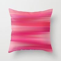 Whispered Sunset Throw Pillow by Lisa Argyropoulos | Society6