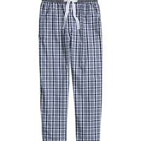 H&M - Pajama Pants - Blue - Men