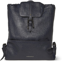 Burberry Shoes & Accessories - Full-Grain Leather Backpack | MR PORTER