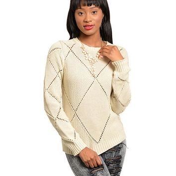 Gina Beige Sweater