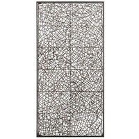 Metal & Rattan Wall Decor - Large