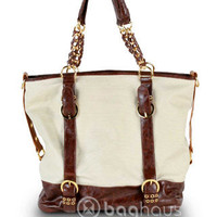 Melie Bianco Margo Canvas Tote