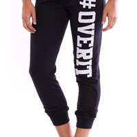 Jogger Pant with Over It Screen
