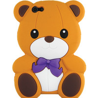 Brown Bear Silicon iPhone 5/5S case