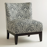 Black and White Darby Chair - World Market
