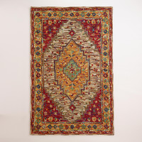 Zahra Caravan Tufted Persian-Style Rug - World Market