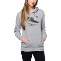 Crooks and Castles Ammo Flag Grey Pullover Hoodie