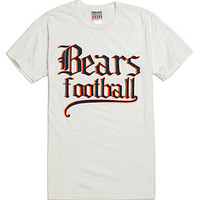 True Vintage Bears Football T-Shirt - Mens Tee - Off White -
