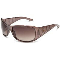 Diesel Women`s 0148 Sunglasses,Dove Gray Spiegel Frame/Brown Gradient Lens,one size