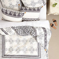Enmore Embroidered Duvet by Anthropologie