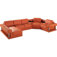 Fine Leather Sectionals - Opulentitems.com
