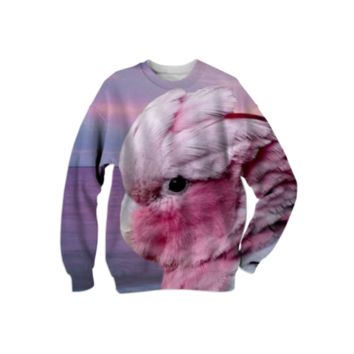 Galah Cockatoo Sweatshirt created by ErikaKaisersot | Print All Over Me