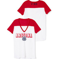 University of Arizona Mesh V-neck Jersey - PINK - Victoria's Secret