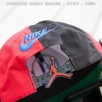 vintage Air Jordan snapback hat sports hat by VintageSnapbacks