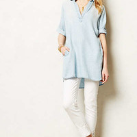 Dotted Chambray Tunic
