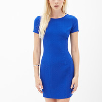 Textured Sheath Dress