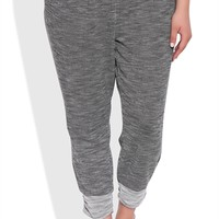 Plus Size Frech Terry Space Dye Jogger Pants
