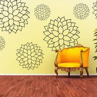 Vinyl Wall Decal Sticker Art  Cheerful and by wordybirdstudios