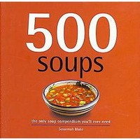 500 Soups (Hardcover)