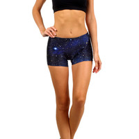 Blue Galaxy Itty Bitty Shorts