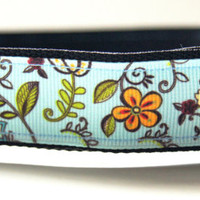 Summer Flower Dog Collar Adjustable Sizes (M, L, XL)