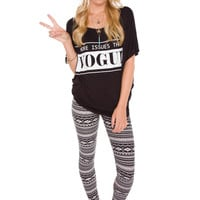 Black Jack Aztec Leggings