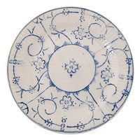 VINTAGE BLUE LUNCH PLATE | tabletop | FLEA | Jayson Home & Garden
