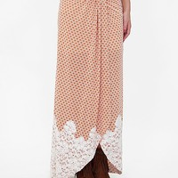 Gimmicks by BKE Printed Maxi Skirt