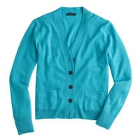 MERINO WOOL V-NECK CARDIGAN