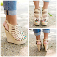 Precious Wonder Wedge - IVORY /