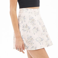 Floral Scuba Knit Skater Skirt - Clothing - 2000102023 - Forever 21 UK