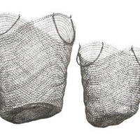 BOUCLE WIRE SHOP BASKETS | tabletop | accessories | Jayson Home & Garden