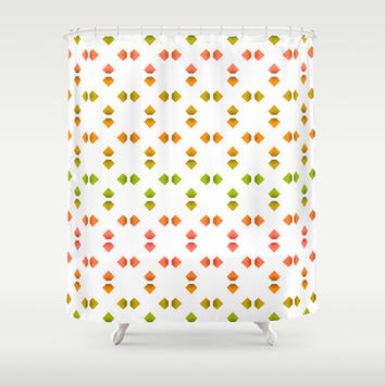 spring pattern   Shower Curtain by VanessaGF